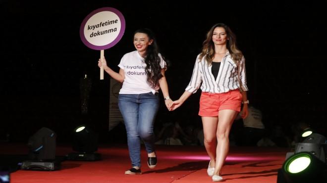 Dayanç'tan kadınlara  'karışamazsınız' ile destek