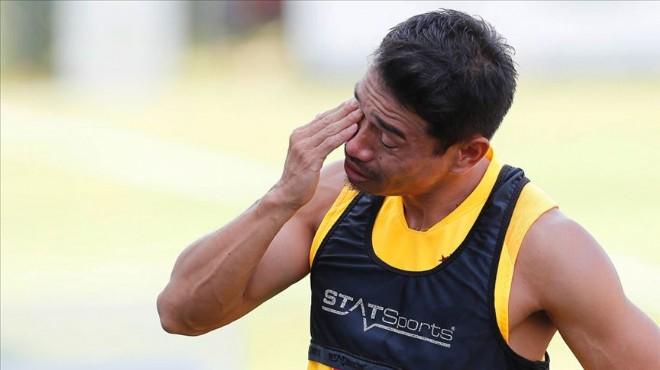 Nagatomo antrenmanda gözyaşlarını tutamadı
