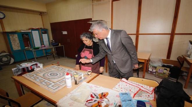 Narlıdere'de üretici kadınlar sahaya iniyor