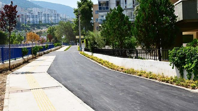 Narlıdere'nin bisiklet yolu tamamlanıyor