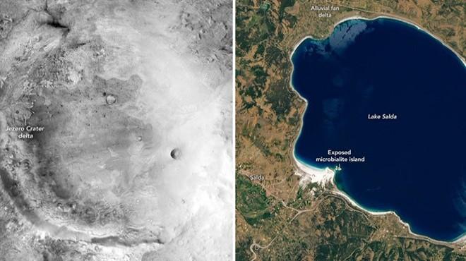 NASA'dan Salda Gölü paylaşımı: Mars'taki Jezero Krateri ile benzerlikler var