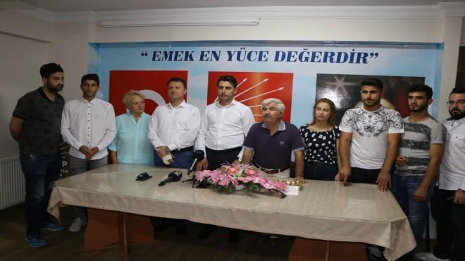 Menemen'de AK Parti'den CHP'ye büyük transfer