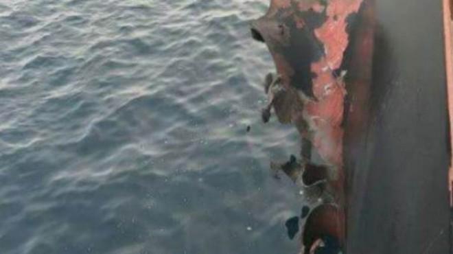 O ülkede Türk gemisine roketli saldırı!