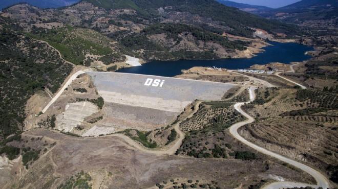 Ödemiş Ovası'na Aktaş Barajı'ndan su verilmeye başlandı