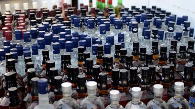 Ödemiş'te kaçak alkol operasyonu