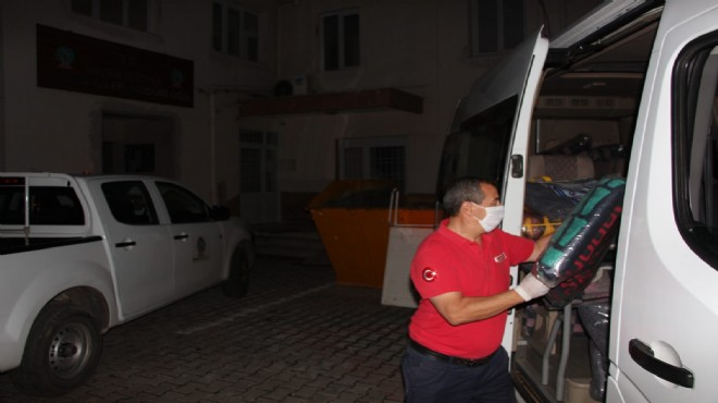 Ödemiş'ten deprem bölgesine yardım eli