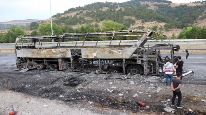 Otobüs yangınlarında motorda yükselen ısıya dikkat