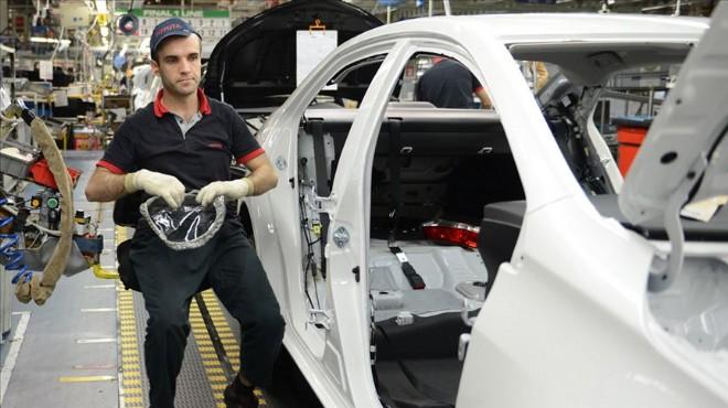 Otomotiv üretimi ilk 6 ayda düşüşte!
