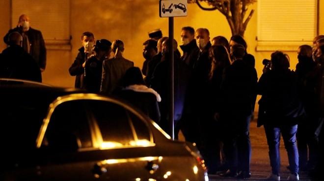 Paris'te öğretmen cinayeti