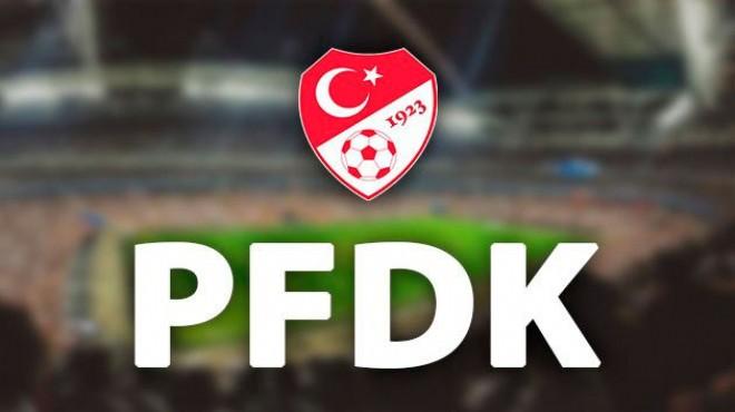 PFDK ceza yağdırdı!