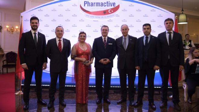 Pharmactive ilaç Arnavutluk'ta