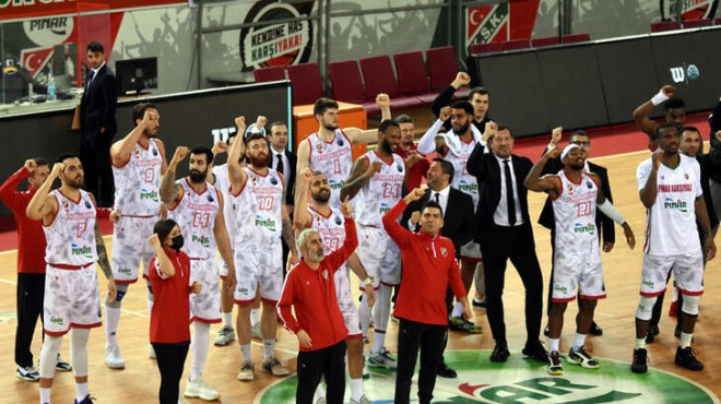 Pınar Karşıyaka top 16'ya adını yazdırdı!
