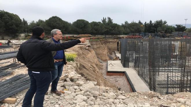Rektör Budak'tan kampüste yapımı süren yurt inşaatında inceleme