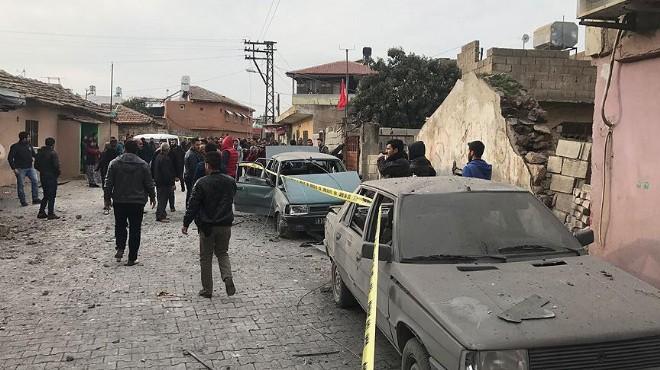 Reyhanlı'ya roketli saldırı: 1 ölü, 32 yaralı!
