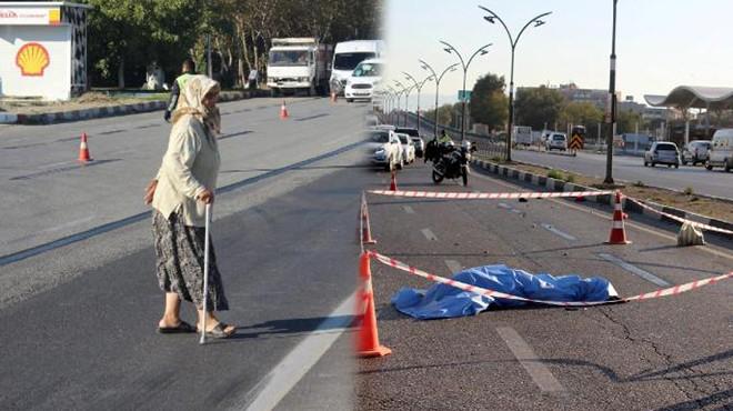 Salihli'de acı kare: Yaşlı çifti kaza ayırdı