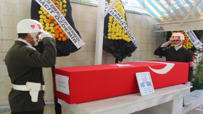 Salihli'de Kore Gazisi son yolculuğuna uğurlandı