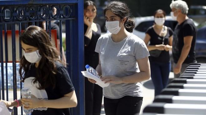 Sınavda maske cezası iddiasına açıklama