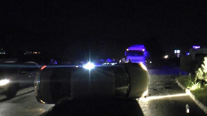 Söke'de iki otomobil çarpıştı: 2 yaralı