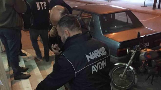 Söke'de uyuşturucu operasyonu: 19 gözaltı!