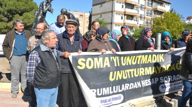 Soma'da şehit madenciler anıldı