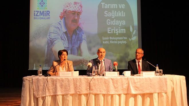 Soyer'den tarım zirvesinde çiftçiye esprili cevap: O zaman bir dönem daha seçeceksin!