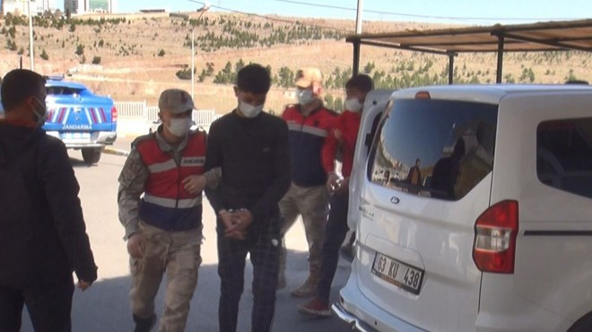 Suriye sınırında patlayıcılarla yakalandılar!