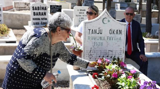 Tanju Okan Urla'da mezarı başında anıldı