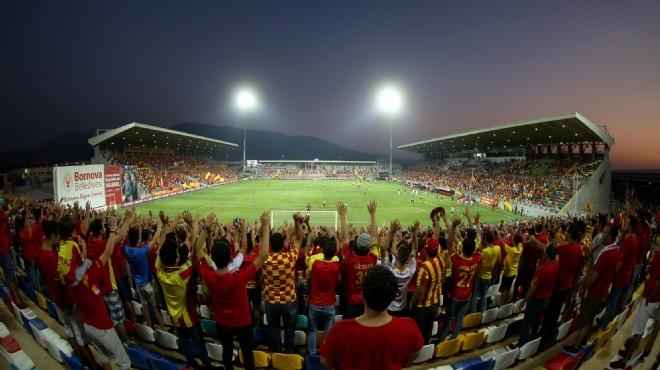 Tarihi maç Bornova Stadı'nda