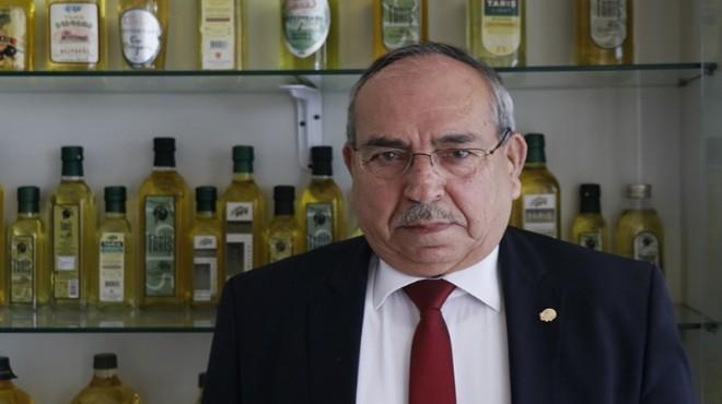 Tariş Zeytin ve Zeytinyağı Birliği Başkanlığına yeniden Hilmi Sürek seçildi