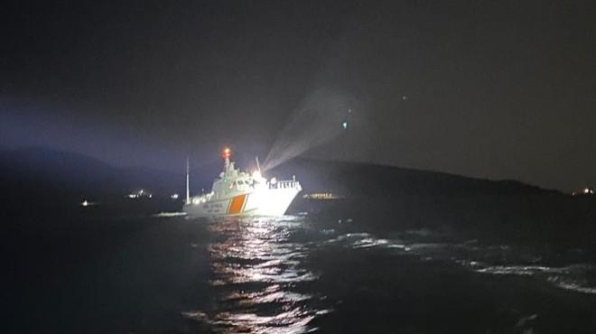 Tekne alabora oldu: Bir kişi öldü, iki asker kayıp