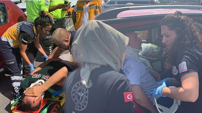TEM otoyolunda zincirleme kaza: 3 yaralı