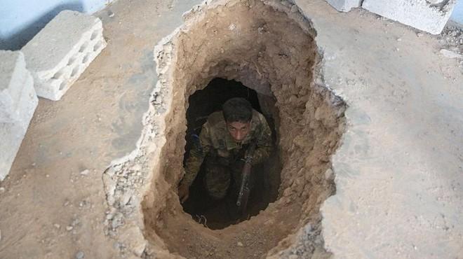 Teröristlerin kazdığı tünel ortaya çıkarıldı!