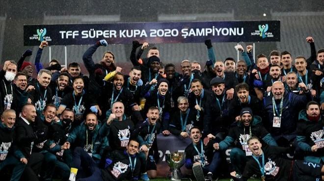 TFF Süper Kupa'nın sahibi belli oldu!