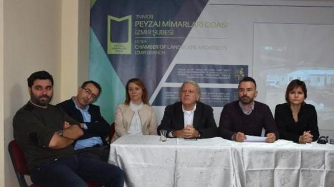 TMMOB'tan İzmir'deki o inşaata suç duyurusu
