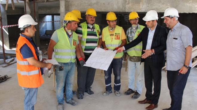 Torbalı'da örnek uygulama: Ustalara inşaatta sınav