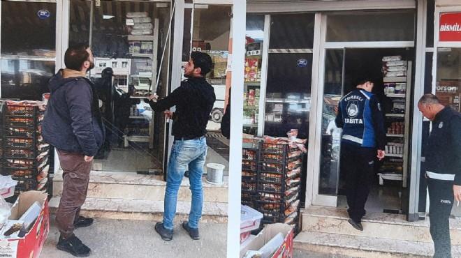 Torbalı'da Suriyelilerin dükkanları mühürlendi!