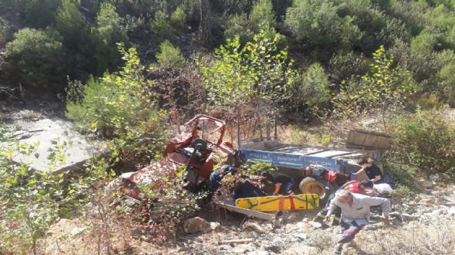 Traktör devrildi, 11 yaşındaki Kevser hayatını kaybetti