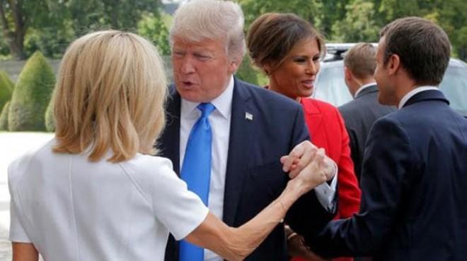 Trump Macron Un 24 Yas Buyuk Esine Oyle Bir Iltifat Etti Ki