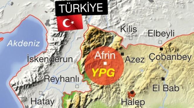 TSK, Afrin kuşatması için hazır durumda!