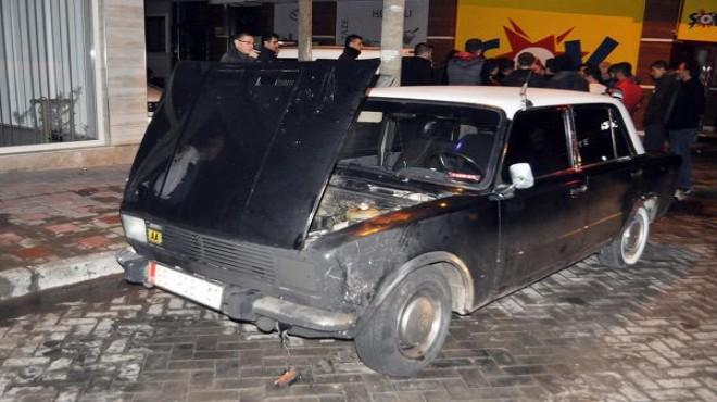 Turgutlu'da borç-alacak tartışması: Üç arabayı yaktı!