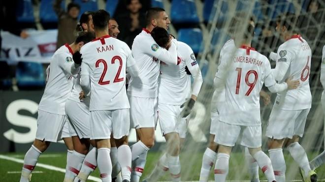 Türkiye, EURO 2020'ye galibiyetle gidiyor