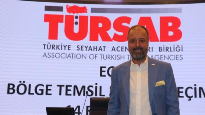 TÜRSAB Ege Bölge Temsil Kurulunda seçim: Başkanlığa Tolga Gencer yeniden seçildi