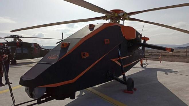 TUSAŞ'ın insansız elektrikli taarruz helikopteri T629 ilk kez görüntülendi