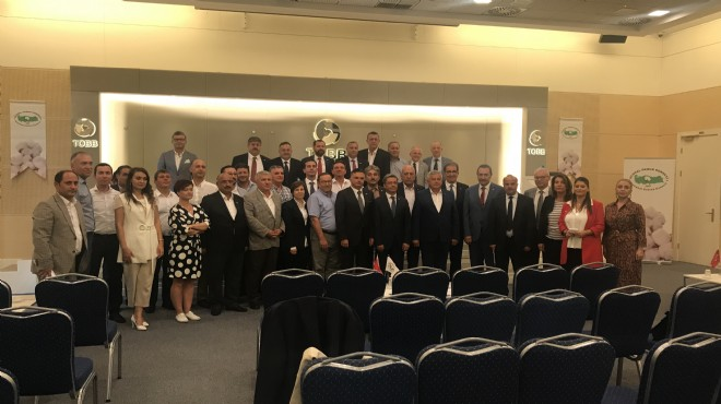Ulusal Pamuk Konseyi'nde yeni yönetim belirlendi