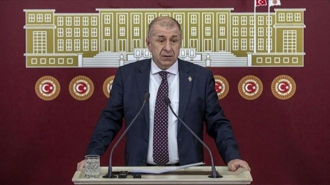 Ümit Özdağ İYİ Parti'den istifa etti