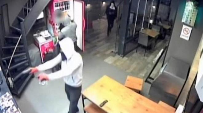 Ünlü fast food restoranının vardiya müdürü çete üyesi çıktı