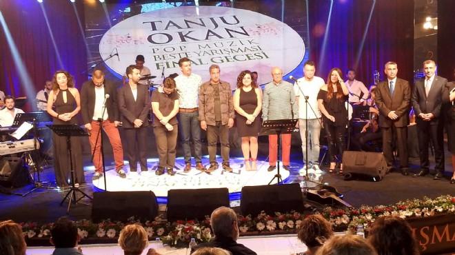 Urla'da şarkılar Tanju Okan için yarıştı