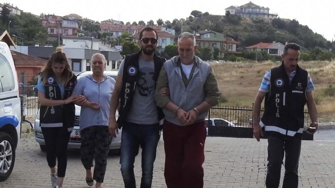Urla'da zehir operasyonu: 2 tutuklama
