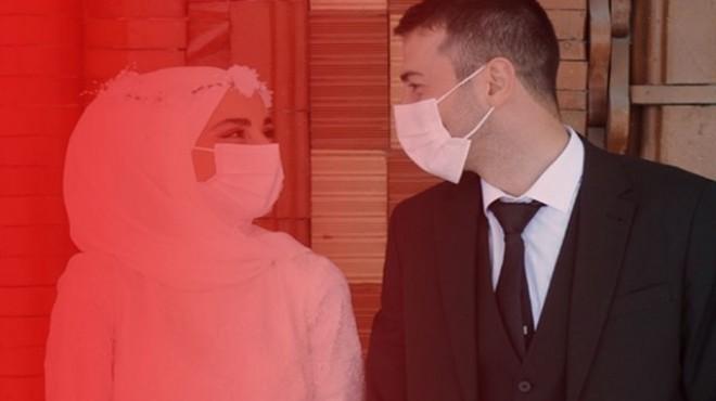 Vakalar arttı, ilçede nikah işlemleri durduruldu