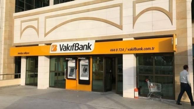 Vakıfbank'ın yüzde 58,5'lik hissesi bakanlığa devredildi
